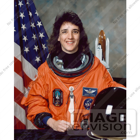 #8619 Picture of Astronaut Nancy Jane Sherlock Currie by JVPD