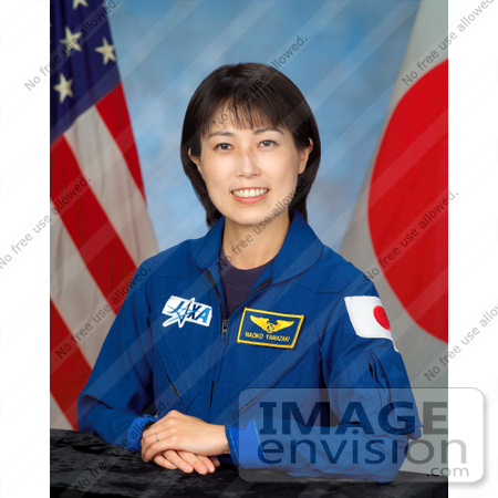 #8681 Picture of Astronaut Naoko Yamazaki by JVPD