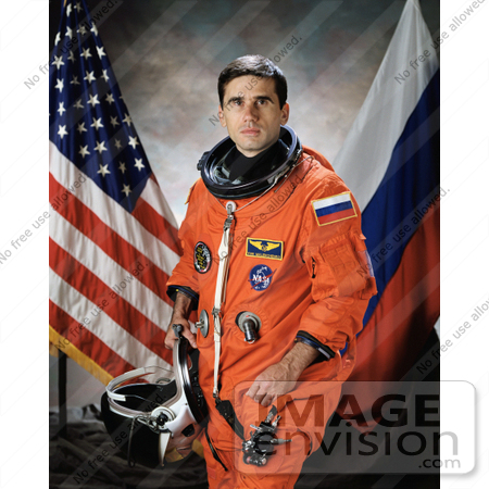 #8691 Picture of Astronaut Yuri Ivanovich Malenchenko by JVPD