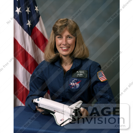 #8703 Picture of Astronaut Nancy Jan Davis by JVPD