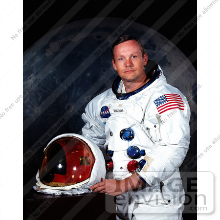 #8715 Picture of Astronaut Neil Alden Armstrong by JVPD