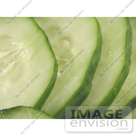 #89 Food Picture of Cucumber Slices by Kenny Adams