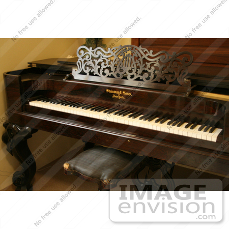#984 Stock Photograph of a Piano by Jamie Voetsch
