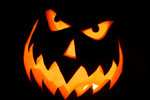 Free Picture of Carved Halloween Pumpkin