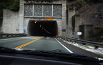 Free Picture of Driving Towards a Tunnel