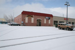 Free Picture of Snowfall at the Shooters Ground Zero Club in Medford, Oregon with Snow