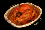 Free Picture of Cooked Thanksgiving Turkey in a Roasting Pan