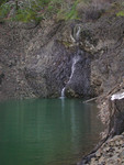 Free Picture of Waterfall at Lost Creek Lake, Oregon