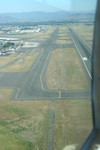 Free Picture of Airport Runway From Above