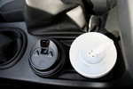 Free Picture of Beverages in Car Cup Holders