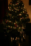 Free Picture of Christmas Table Setting