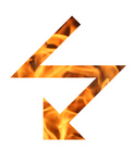 Free Picture of Flaming Lightning