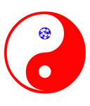 Free Picture of American Ying Yang