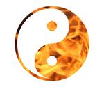 Free Picture of Fiery Yin Yang