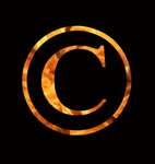 Free Picture of Fiery Copyright