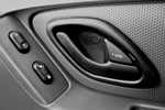 Free Picture of Door Handle and Power Buttons in a Car
