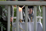 Free Picture of Lighting a Unity Candle