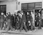 Free Picture of Women welders on the way to their job at the Todd Erie Basin drydock