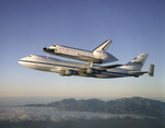 Free Picture of Shuttle Atlantis returning to Kennedy Space Center 09/01/1998
