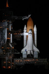 Free Picture of Space Shuttle Discovery Launch Pad 39B