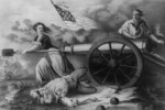 Free Picture of The Heroine on Monmouth, Molly Pitcher