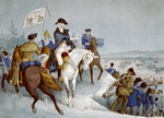 Free Picture of Washington, Crossing the Delaware
