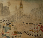 Free Picture of The Bloody Massacre Perpetrated in King Street, Boston