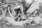 Free Picture of Washington at Valley Forge
