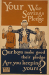 Free Picture of Your War Savings Pledge