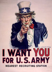 Free Picture of Uncle Sam - I Want You For US Army
