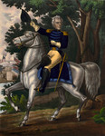 Free Picture of Andrew Jackson With the Tennessee Forces on the Hickory Grounds