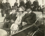 Free Picture of  President Calvin Coolidge, Mrs. Coolidge and Charles Curtis