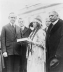 Free Picture of Miss Ruth Muskrat With President Coolidge