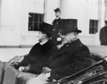 Free Picture of Mr. Coolidge Takes a Last Look at the White House