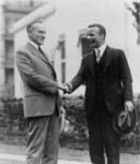 Free Picture of Theodore Roosevelt Jr and Calvin Coolidge