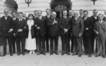 Free Picture of President and Mrs. Coolidge with Association of Advertising Men