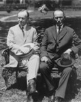 Free Picture of President Coolidge and His Father