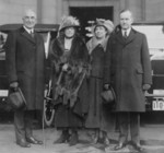 Free Picture of President and Mrs Coolidge With Vice President and Mrs Harding