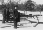 Free Picture of Calvin Coolidge, White House Construction