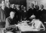 Free Picture of Coolidge Signing the Cameron Bill