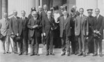 Free Picture of Calvin Coolidge, Herbert Hoover and the American Red Cross