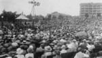 Free Picture of Calvin Coolidge Addressing Members of the National Educational Association