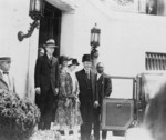 Free Picture of President and Mrs. Calvin Coolidge With Charles Lindbergh and His mother