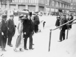 Free Picture of President and Mrs. Coolidge Attending the Services at the First Congressional Church