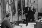 Free Picture of Gerald Ford Being Photographed by Buck May