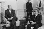 Free Picture of Gerald Ford and Henry Kissinger in the Roosevelt Room