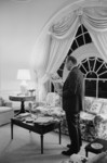 Free Picture of President Gerald Ford Reading the Newspaper