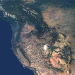 Free Picture of Western United States and Southwestern Canada
