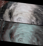 Free Picture of Roiling Clouds of Katrina