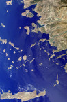Free Picture of Greek islands of the Aegean Sea